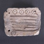 arheoloska zbirka otisak na kamenu
