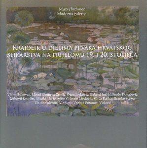 krajolik u djelima prvaka hrvatskog slikarstva