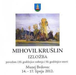 izložba Mihovila Krušlina