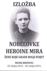 izložba nobelovke Heroine Mira