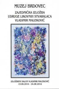 izložba Vladimira Malekovića 2014