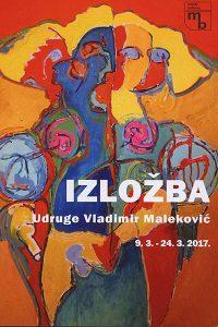 izložba Vladimira Malekovića 2017